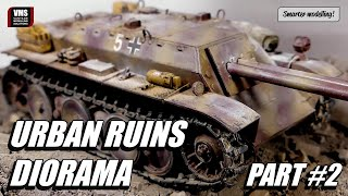 How to weather a dusty tank for urban diorama VMS Sand & Ballast Freeze Part #2