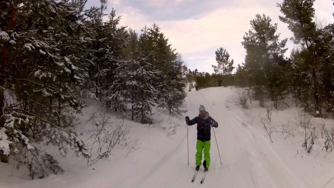 Лыжи , делают так !!! - YouTube