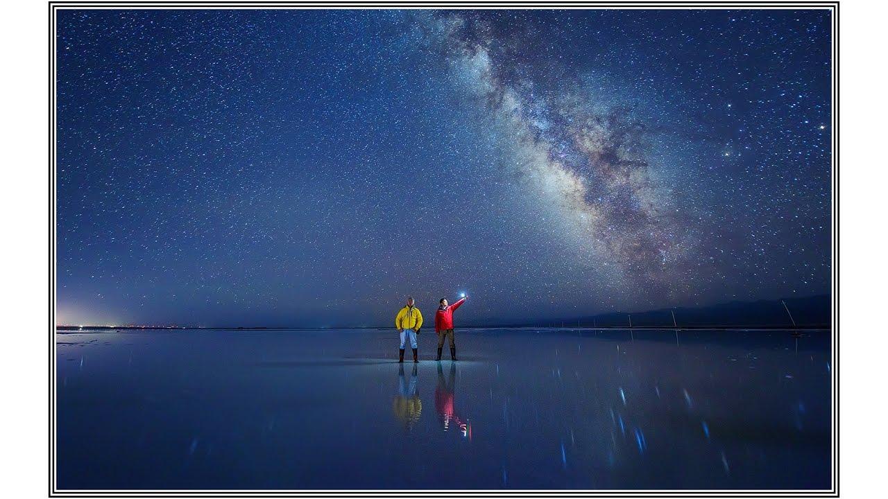 青海茶卡鹽湖,天空之鏡 Youtube
