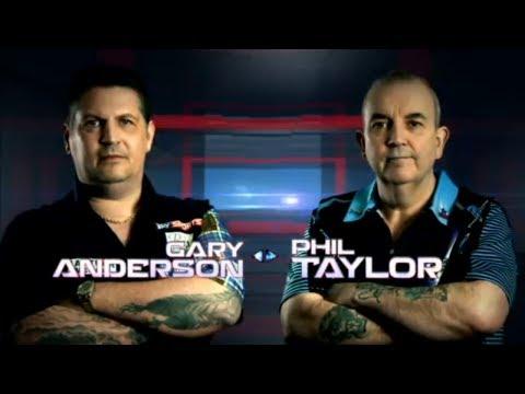 2017 Dubai Duty Free Darts Masters Quarter Final Anderson vs Taylor