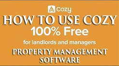How to Use Cozy a Free Property Management Software for Landlords