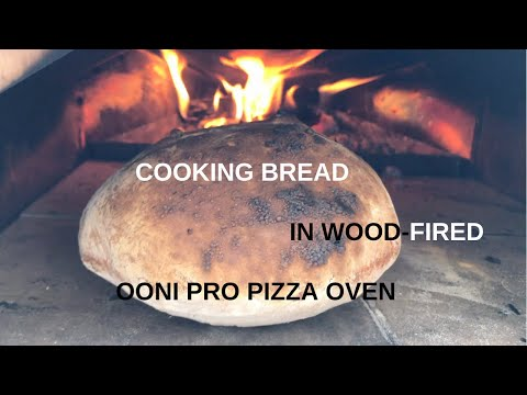 Cooking Bread in the Ooni Pro Pizza Oven for the first time!!