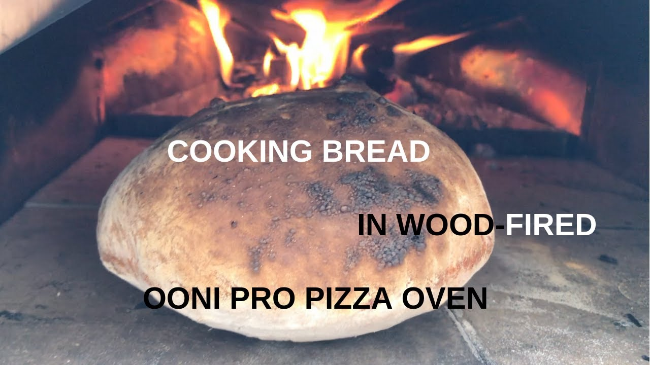 Cooking Bread In The Ooni Pro Pizza Oven For The First Time