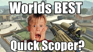 Worlds BEST 1v1 Quickscoper EVER!? COD Black Ops 2 Road To 100 Quickscoping (Xbox 360)