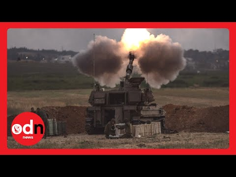 Israel-Palestine Conflict: Gaza Tower Blocks CRUMBLE Under Israeli Air Strikes