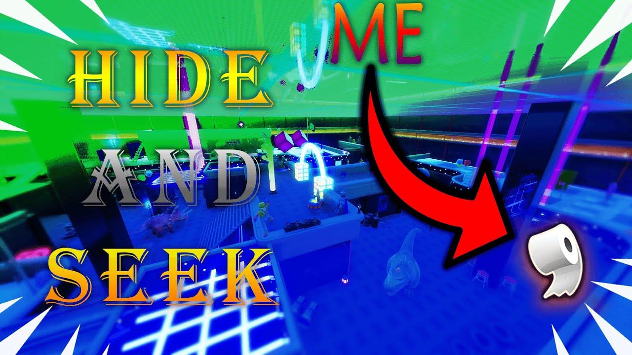 *NEW* CREATIVE MODE HIDE AND SEEK IN FORTNITE!