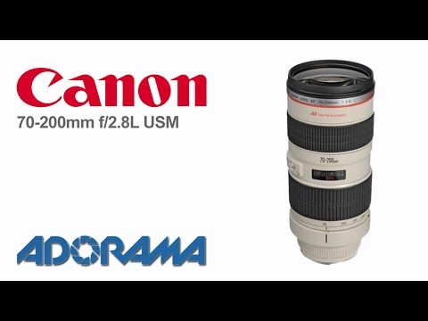 Canon EF 70-200mm f2.8L USM Lens: Product Overview with ...