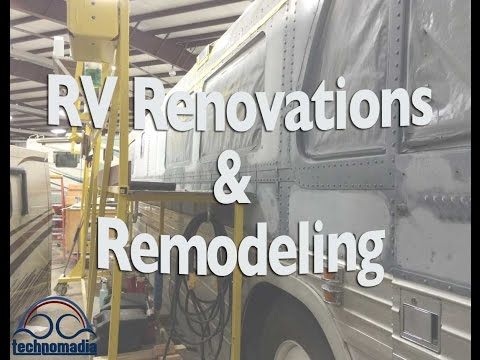 RV Renovations & Remodeling as a Full Time RVer