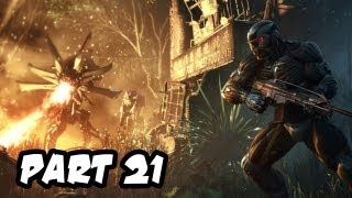 Crysis 3 Gameplay Walkthrough - Part 21 - Mission 7: Gods and Monsters (Xbox 360/PS3/PC HD)