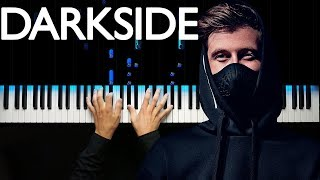 Alan Walker - Darkside | Piano cover