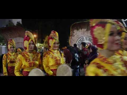 Opening Surabaya Cross Culture International Folk Art Festival 2017