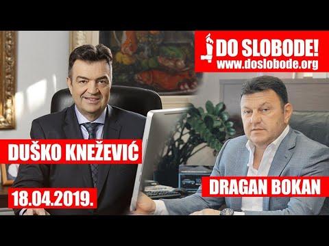 Duško Knežević telefonski razgovor sa Draganom Bokanom