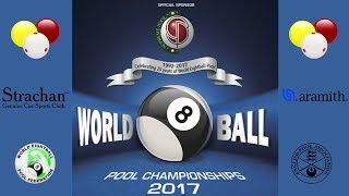 WEPF World 8 Ball Pool Championships - Men