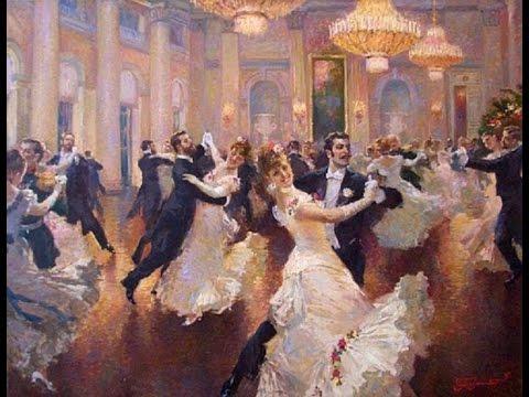 Johann Strauss- Waltz ✽ Vladimir Pervuninsky Russian painter