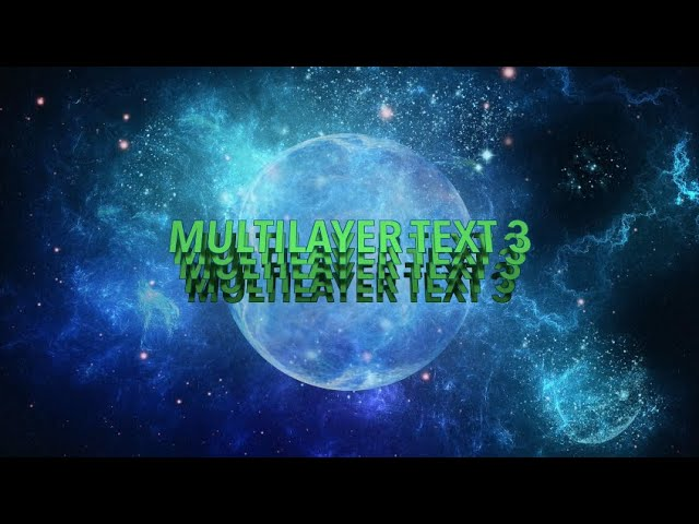 WM Multilayer Text