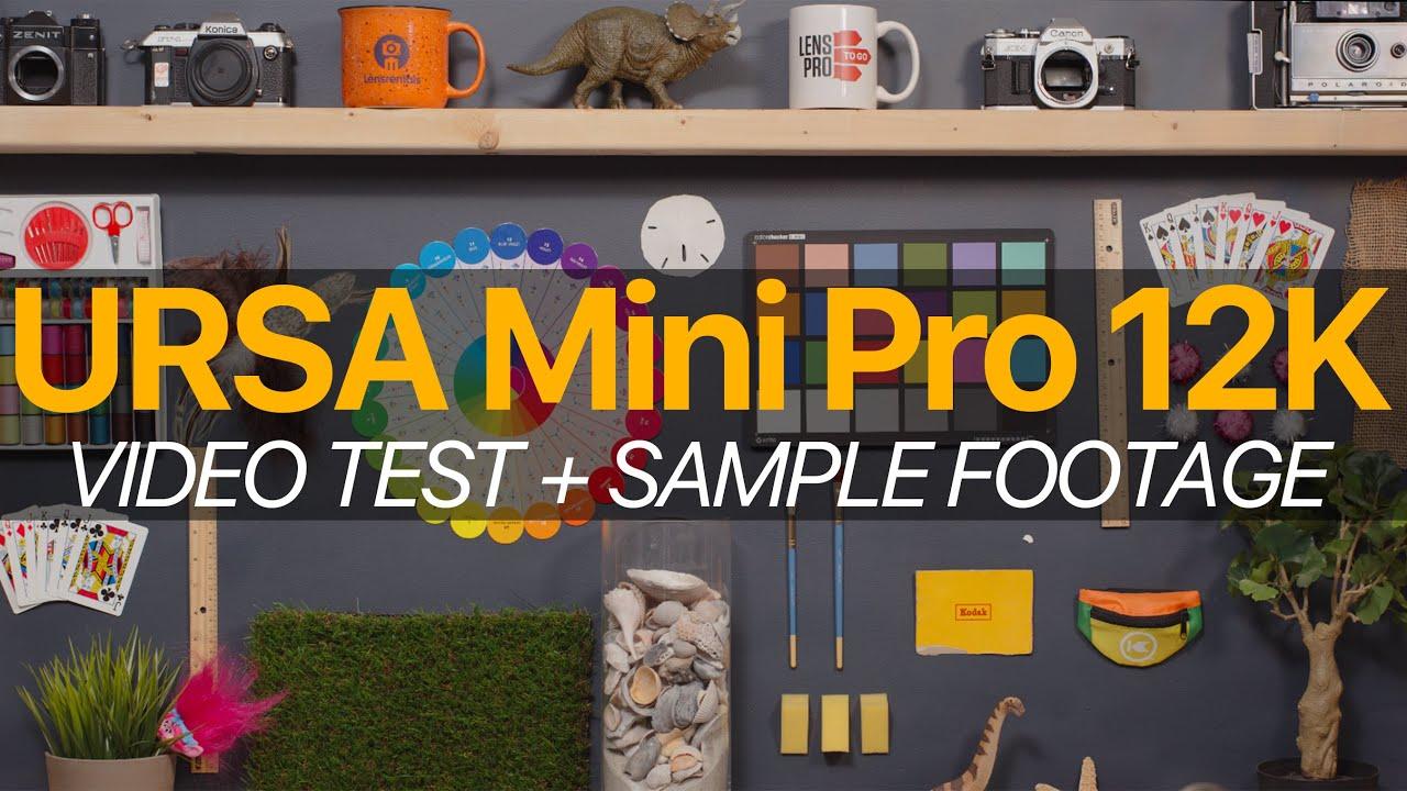URSA Mini Pro 12K: Putting 12K Video to the Test (8K UPLOAD)