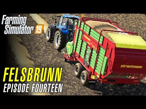 LOADING STRAW TO SELL | Let's Play Farming Simulator 19 | Episode 14