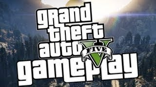 GTA V GAMEPLAY BREAKDOWN!