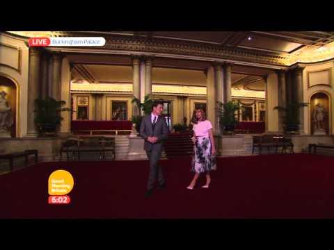 The Grand Entrance - Inside Buckingham Palace | Good Morning Britain