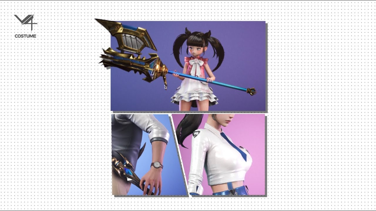 V4[브이포] 20 S/S NEW Costume Update