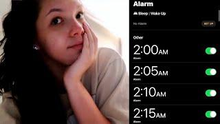 ASMR Vlog | 2am Morning Routine (GRWM)