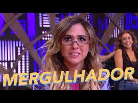 Mergulhador - Entrevista Com Especialista - Tatá Werneck - Lady Night - Humor Multishow