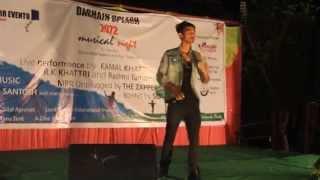 Rk khatri - lang lang na gara (live in surkhet Dashain Splash 2072)