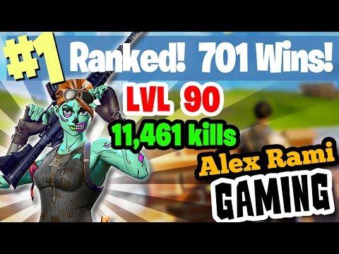 #1 World Ranked - 701 Wins - 11,461 Kills  - Level 90 - Sponsor Goal 314/350 thumbnail