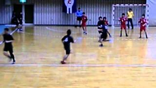 11 5 4 中四国大学対抗ハンドボール大会・愛媛大学対山口大学