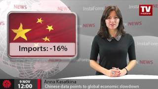Chinese data points to global economic slowdown