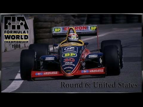 [rFactor 2] F1 1988 Season - Round 6 - USA