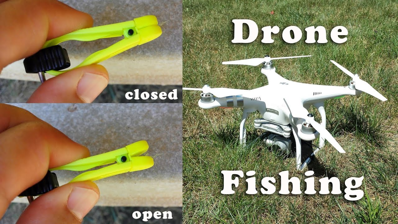 Drone fishing how to release the fishing line youtube for Drone fishing line release