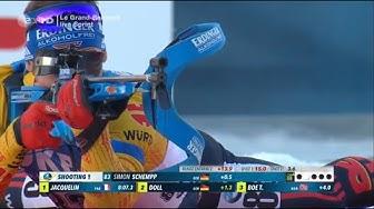 """Biathlon - """" Sprint Herren """" - Annecy - Le Grand Bornand 2019 / """" Sprint Men """""""