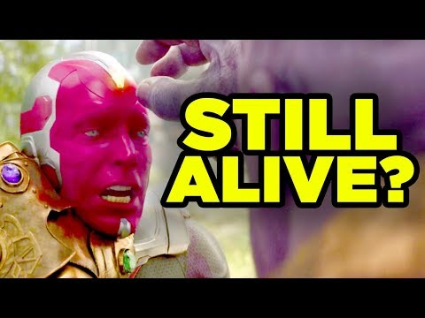 AVENGERS ENDGAME - Vision Still Alive? Mind Stone Theory Explained!