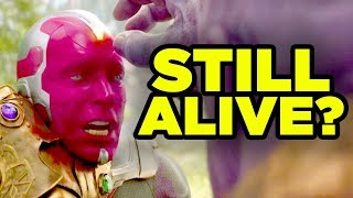 AVENGERS ENDGAME - Vision Still Alive? Mind Stone Theory Explained!