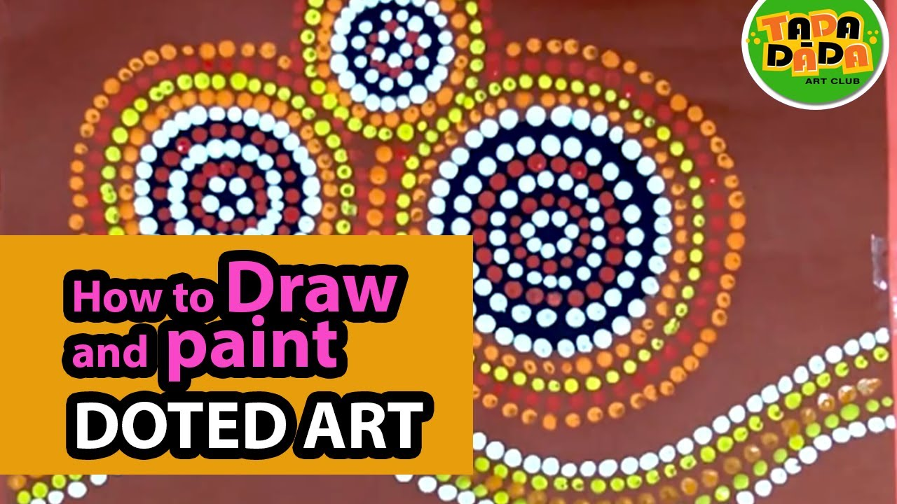 How To Draw And Paint Aboriginal Art Step By Step Australian