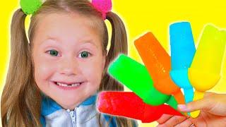 Ice Cream Song | Eva Nursery Rhymes & Kids Songs | Eva Songs
