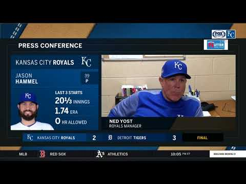 Ned Yost on Jason Hammel: 'He was fantastic'