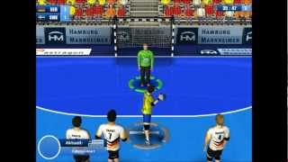 Let´s Play Handball Simulator European Tournament 2010 (German/HD) part8 - Schweden