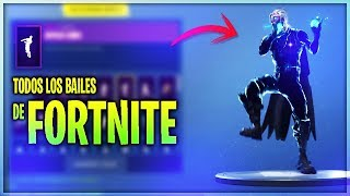 #1 THE SKIN GALAXY DANCES ALL FORTNITE BATTLE ROYALE BAILES