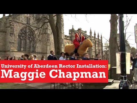 University of Aberdeen Rector Installation - Maggie Chapman
