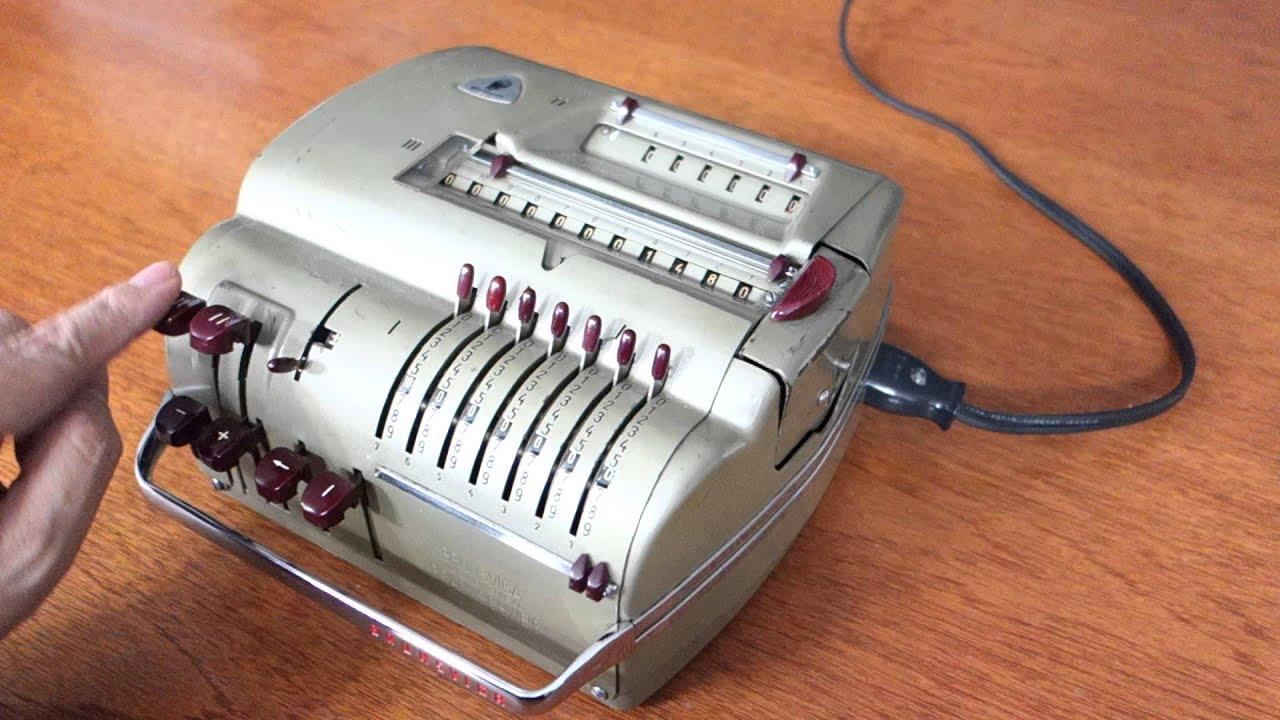 ブルンスビガ電動機械式計算機(...