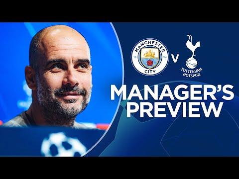 Pep Guardiola previews City v Spurs | PRESS CONFERENCE