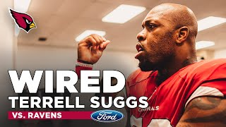 Terrell Suggs was Mic'd Up for his Return to Baltimore | Arizona Cardinals Wired
