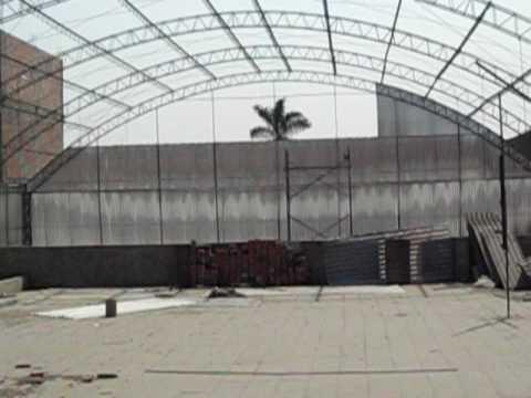 Techo parabolico youtube for Como hacer una estructura metalica para techo