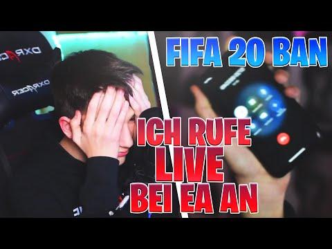ICH RUFE LIVE IM EA SUPPORT AN☎️ | ICH Wurde In FIFA 20 GEBANNT😲#Twitch Highlights