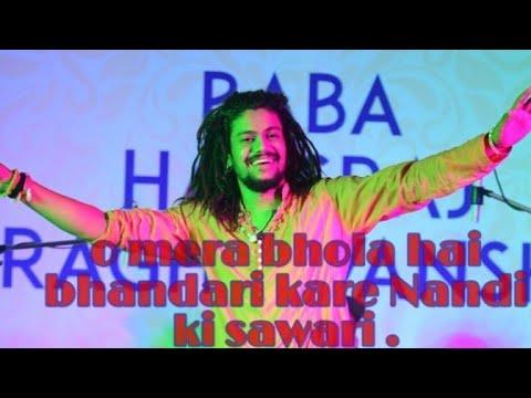 MERA BHOLA HAI BHANDARI || HANSRAJ RAGHUWANSHI || LIVE SHOW AT SOLAN(SUBHATU)