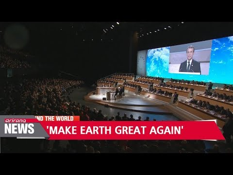 Macron steps up fight against climate change at 'One Planet' summit