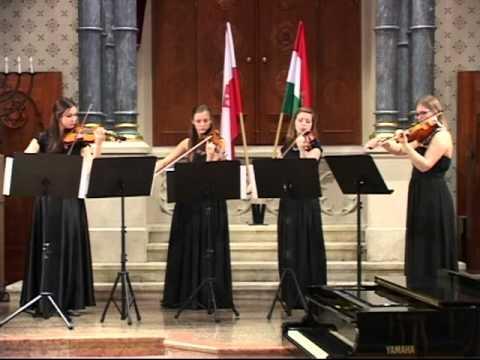 Grazyna Bacewicz, Quartet for 4 violins