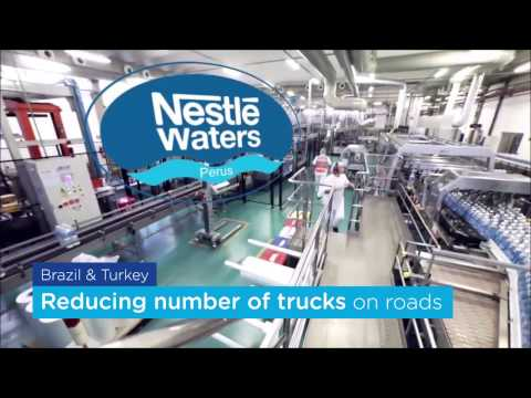 Nestlé Waters MT - Supply Chain department- Engaged in reducing our Transport carbon footprint